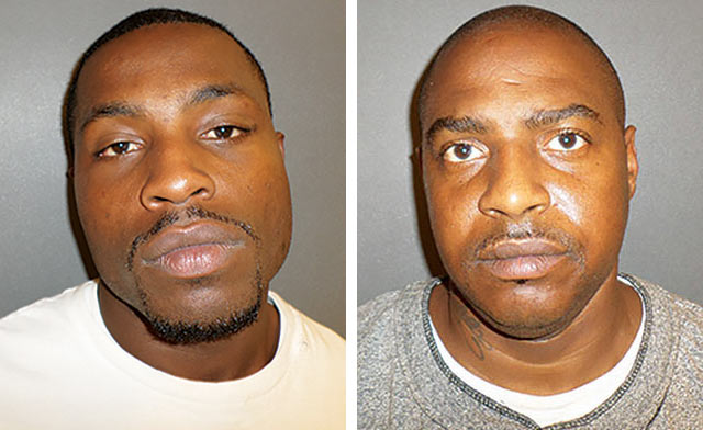 Marcus Peterson(left), Broderick Creag (right). HCSO photos
