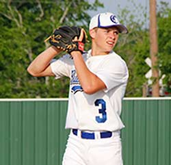 Sophomore Colby Davenport of the Crockett Bulldogs was tabbed as a First Team Pitcher on the 19-2A All-District Team.
